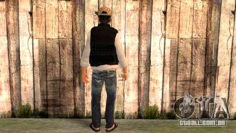 Desmadroso v5.0 para GTA San Andreas segunda tela