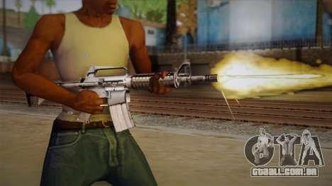 M4 de Max Payne para GTA San Andreas terceira tela