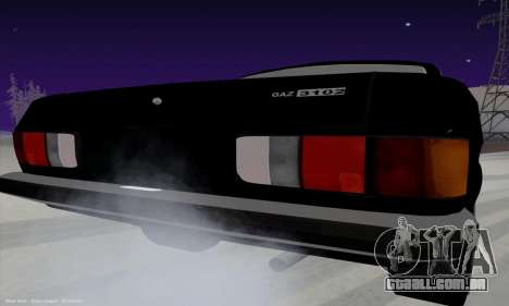 GAZ Volga de 3102 para GTA San Andreas vista direita