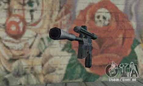 Blaster de Star Wars para GTA San Andreas