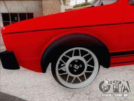 Volkswagen Golf GTI MK1 para GTA San Andreas esquerda vista