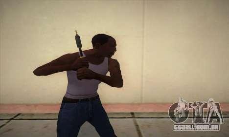Um ferro de solda para GTA San Andreas terceira tela