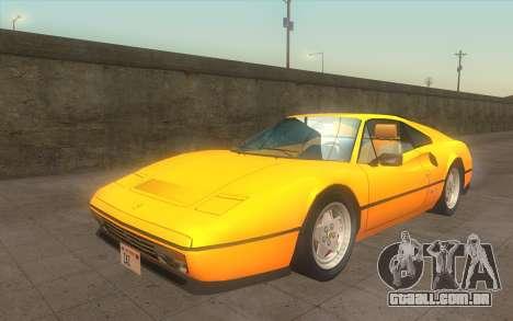 Ferrari 328 GTB para GTA San Andreas
