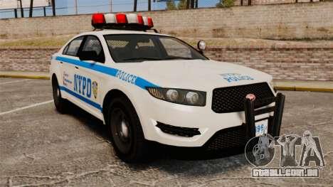GTA V Police Vapid Interceptor NYPD para GTA 4