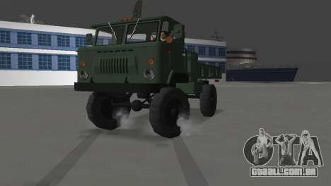 GAZ 66 para GTA Vice City vista traseira