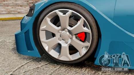 Opel Astra Coupe OPC Road Edition para GTA 4 vista de volta