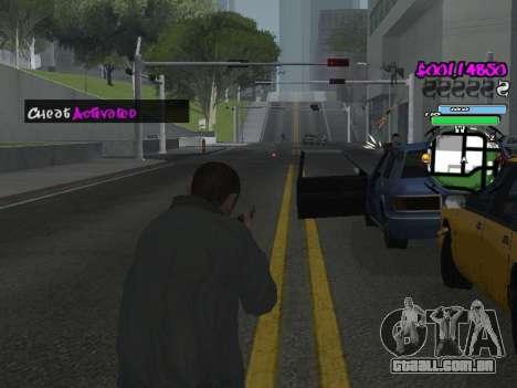 HUD para GTA San Andreas décima primeira imagem de tela