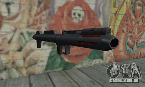 Lançador de míssil de Star Wars para GTA San Andreas