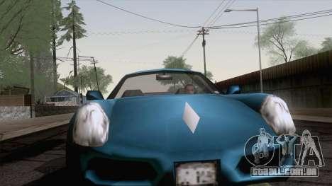 Ferrão de GTA 3 para GTA San Andreas traseira esquerda vista