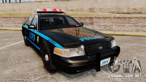 Ford Crown Victoria 1999 LCPD para GTA 4