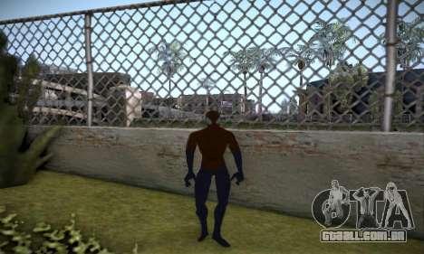 Spider man EOT Full Skins Pack para GTA San Andreas quinto tela
