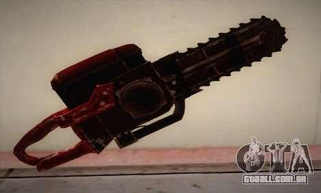 Nova motosserra para GTA San Andreas segunda tela