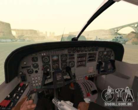 Cessna 208B Grand Caravan para GTA San Andreas vista superior