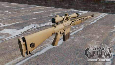 O rifle sniper M110 SASS para GTA 4 segundo screenshot
