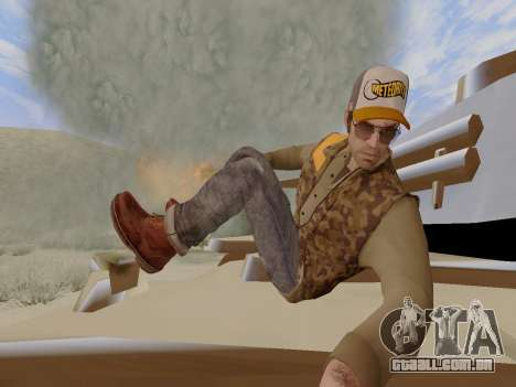 Trevor Phillips para GTA San Andreas nono tela