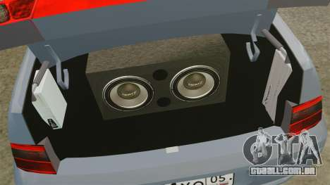 VAZ-2110 para GTA 4 vista interior