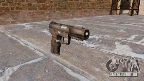Carregamento automático pistola FN Five-seveN para GTA 4