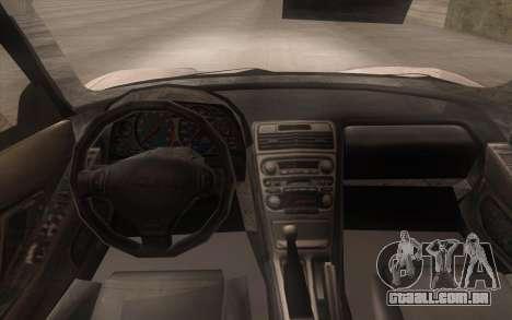 Acura NSX para GTA San Andreas vista direita