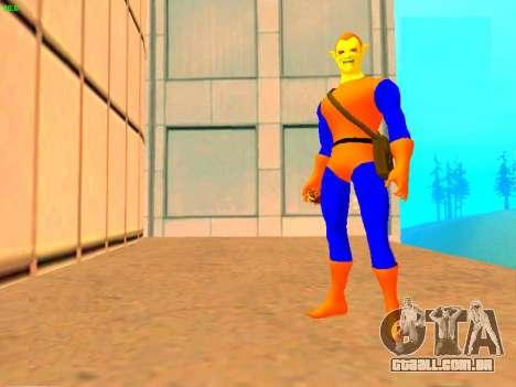 Duende das histórias em quadrinhos para GTA San Andreas terceira tela