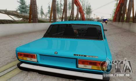 VAZ 2107 Coupe para GTA San Andreas vista direita