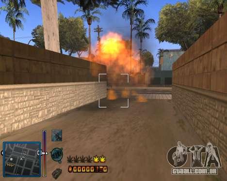 C-HUD by Mike Renaissance para GTA San Andreas terceira tela