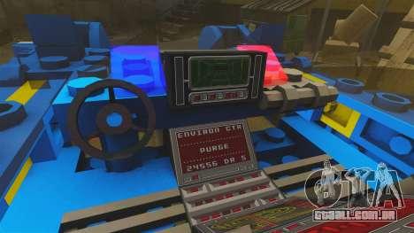 Lego Car Blade Runner Spinner [ELS] para GTA 4 vista de volta