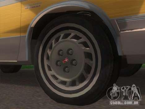 Oldsmobile Cutlass Ciera Cruiser para GTA San Andreas traseira esquerda vista