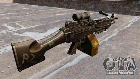 Luz metralhadora M249 SAW para GTA 4 segundo screenshot