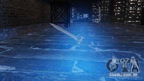 A espada sagrada para GTA 4 terceira tela