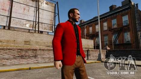 Jaqueta vermelha para GTA 4 terceira tela