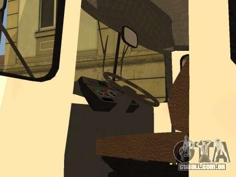 Kavz 3976 para GTA San Andreas vista traseira