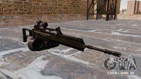 Fuzil de assalto HK MG36 para GTA 4