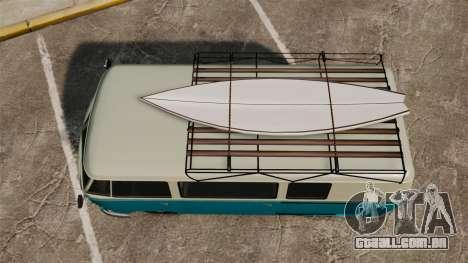 GTA V BF Surfer Burgerfahrzeug para GTA 4 vista direita