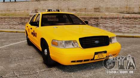 Ford Crown Victoria 1999 NYC Taxi para GTA 4