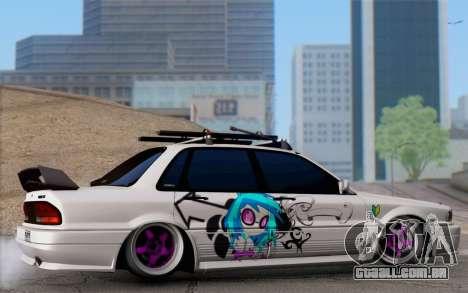 Mitsubishi Galant 1992 para GTA San Andreas esquerda vista