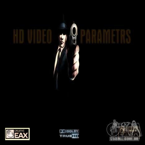 Tela de inicialização de máfias para GTA San Andreas segunda tela