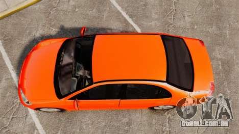 Honda Civic VTEC para GTA 4 vista direita