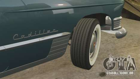 Cadillac Series 62 1949 para GTA 4 vista inferior