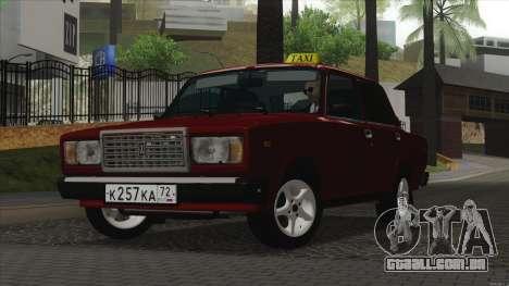 VAZ 2107 Bombilla para GTA San Andreas