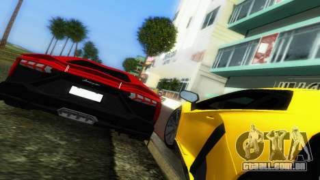 Lamborghini Aventador LP720-4 50th Anniversario para GTA Vice City vista lateral