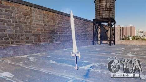A espada sagrada para GTA 4 segundo screenshot