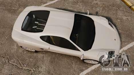 Turismo Sport para GTA 4 vista direita