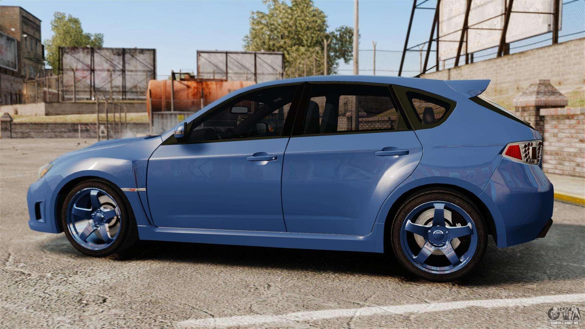 Subaru Impreza 2010 Para Gta 4