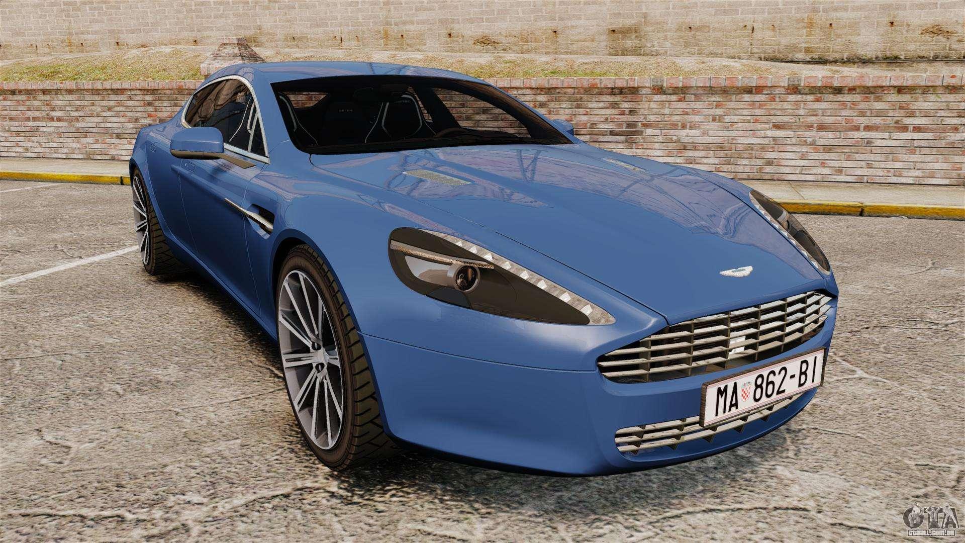 Aston Martin Rapide 2010 Para Gta 4
