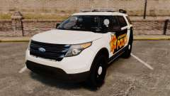 Ford Explorer 2013 Longwood Police [ELS] para GTA 4