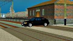 LADA 2112 Coupe verde Sandpiper para GTA San Andreas