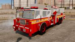 Seagrave Aerialscope Tower Ladder 2006 FDLC para GTA 4