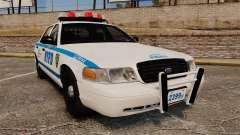 Ford Crown Victoria 1999 NYPD para GTA 4