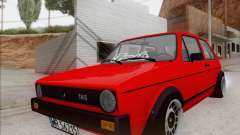 Volkswagen Golf GTI MK1 para GTA San Andreas