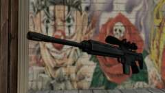 Snajperckaâ rifle preto para GTA San Andreas
